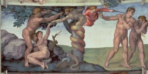 The Fall of Man, 1510 by Michelangelo