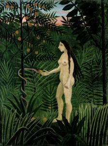 Eve, 1906 by Henri Rousseau