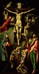 The Crucifixion, c.1584 by El Greco