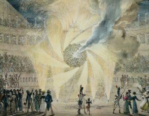 Fireworks by Antoine Jean-Baptiste Thomas