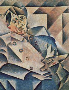 Portrait of Pablo Picasso, 1912 by Juan Gris