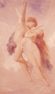 Study for the Abduction of Psyche, c.1889 by Adolphe William Bouguereau