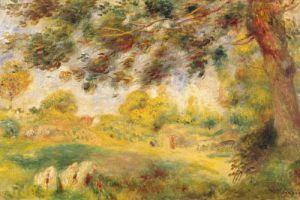 Spring Landscape by Pierre Auguste Renoir