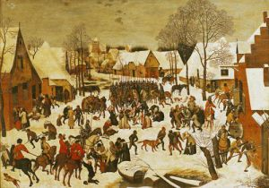 The Massacre of the Innocents, 1593 by Pieter Brueghel The Younger