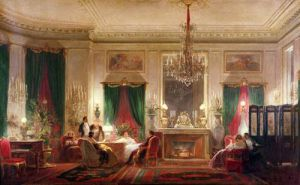 Salon of Princess Mathilde Bonaparte, 1859 by Charles Giraud