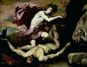 Apollo and Marsyas by Jusepe De Lo Spagnoletto Ribera
