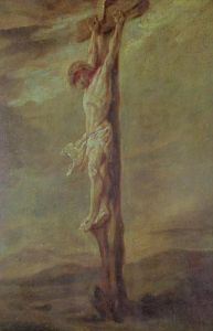 Christ on the Cross, c.1646 by Rembrandt