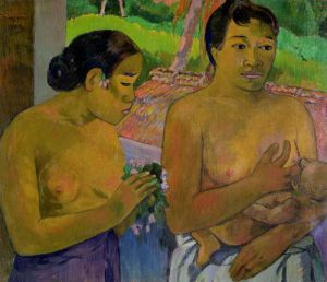 The Offering, 1902 by Paul Gauguin