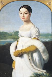 Portrait of Mademoiselle Caroline Riviere 1805 by Jean-Auguste-Dominique Ingres