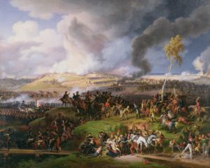 Battle of Moscow 1822 by Louis Lejeune