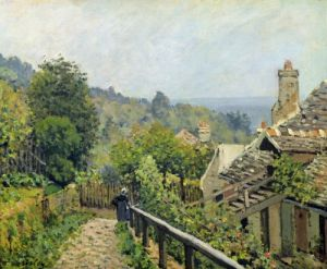 Louveciennes or The Heights at Marly 1873 by Alfred Sisley