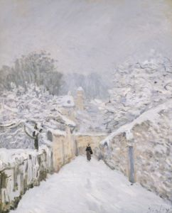 Snow at Louveciennes 1878 by Alfred Sisley
