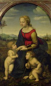 La Belle Jardiniere 1507 by Raphael