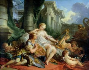 Rinaldo and Armida 1733 by Francois Boucher