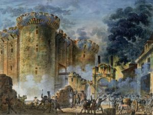 The Taking of the Bastille 1789 by Jean-Pierre Houel
