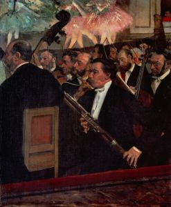 The Opera Orchestra c.1870 by Edgar Degas