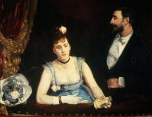 A Box at the Italians' Theatre 1874 by Eva Gonzales