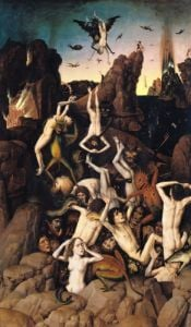 Hell by Dirck Bouts