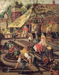 The Spring previously attributed to Pieter Brueghel the Elder by Jacob Grimmer