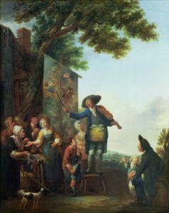 The Violinist by Francois Louis Joseph Watteau
