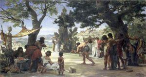 Throwing the Discus 1875 by Edouard-Joseph Dantan