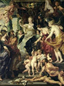 The Felicity of the Regency by Peter Paul Rubens