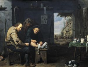The Surgeon 1638 by David Ryckaert III
