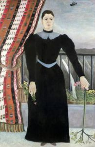 Portrait of a woman 1895 by Henri Rousseau