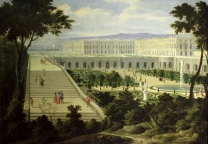 The Orangery at Versailles by Pierre-Denis Martin