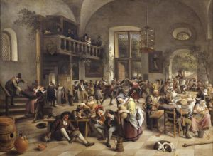 Feast in an Inn by Jan Havicksz Steen
