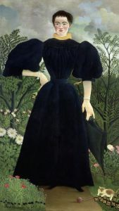 Portrait of a Woman c.1895 by Henri Rousseau
