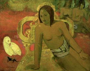 Vairumati 1897 by Paul Gauguin