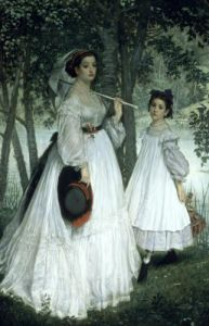 The Two Sisters' Portrait 1863 by James Jacques Joseph Tissot
