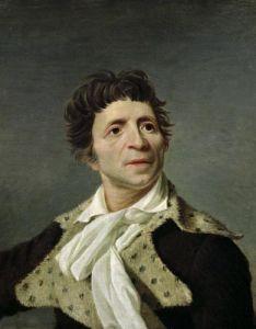 Portrait of Marat 1793 by Joseph Boze