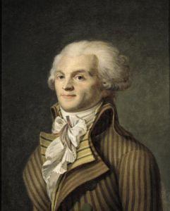 Portrait of Maximilien de Robespierre by French School
