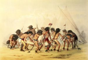 Buffalo Dance c.1832 by George Catlin