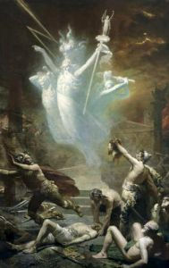 The Taking of the Temple at Delphi 1885 by Alphonse Cornet