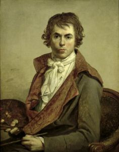 Self Portrait 1794 by Jacques-Louis David