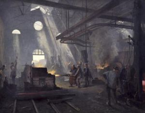 A Forge 1893 by Fernand Cormon