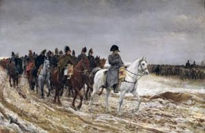 Napoleon on Campaign 1864 by Jean-Louis Ernest Meissonier