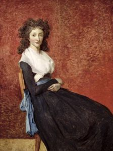 Portrait of Madame Charles-Louis Trudaine c.1791 by Jacques-Louis David