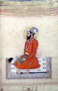 Aurangzeb at prayer Mughal by Anonymous