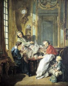 The Afternoon Meal 1739 by Francois Boucher