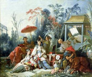The Chinese Garden c.1742 by Francois Boucher