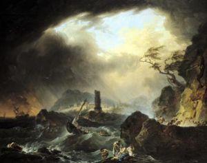 The Storm by Francois Valentin Gazard