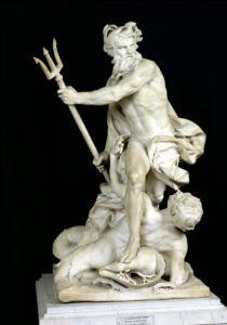 Neptune Calming the Waves 1757 by Lambert-Sigisbert Adam