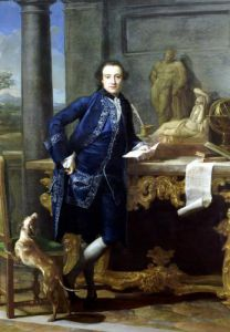 Portrait of Charles John Crowle c.1761 by Pompeo Batoni