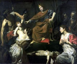 The Judgement of Solomon by Valentin de Boulogne