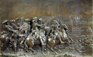 Conquest of Franche-Comte c.1686 by Martin Desjardins