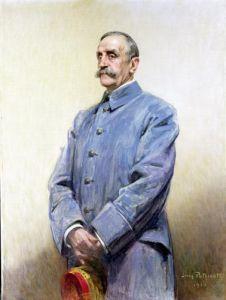 Portrait of Marshal Ferdinand Foch 1920 by Jean Patricot